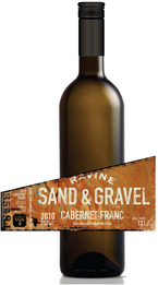 Ravine Vineyards Sand & Gravel Cabernet Franc 2010, Niagara Peninsula Bottle