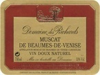 Domaine Des Richards Muscat Beaumes De Venise 2010, Vin Doux Naturel, France, Rhone (500ml) Bottle