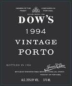 Dow's Vintage Port 1994 Bottle