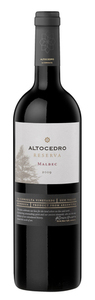 Altocedro Reserva Malbec 2008, La Consulta Vineyards, Uco Valley, Mendoza Bottle