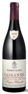 Perrin & Fils Peyre Blanche Cairanne Côtes Du Rhône Villages 2009, Ac Bottle