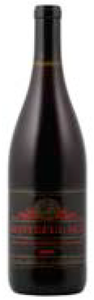 Redhawk Vineyard Grateful Red Pinot Noir 2009, Willamette Valley Bottle