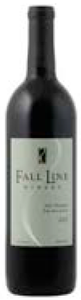 Fall Line Artz Vineyard Red 2007, Red Mountain Bottle