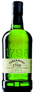 Tobermory 10 Year Old Single Malt, Un Chillfiltered Bottle