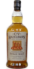 Hazelburn Cv Triple Distilled Campbeltown Single Malt (700ml) Bottle