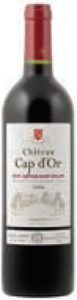 Château Cap D'or 2006, Ac St Georges St émilion Bottle