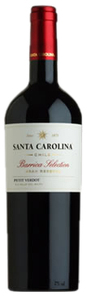 Santa Carolina Barrica Selection Petit Verdot 2009, Rapel Valley Bottle