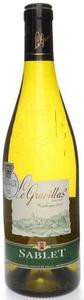 Le Gravillas Sablet Côtes Du Rhône Villages Blanc 2010, Ac Bottle