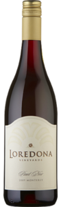 Loredona Pinot Noir 2009, Monterey Bottle