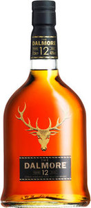 Dalmore 12 Years Old Highland Single Malt Bottle