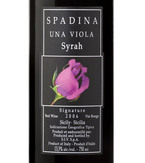 Spadina Una Viola Signature Syrah 2008, Igt Sicilia Bottle