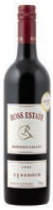 Ross Estate Lynedoch 2006, Barossa Valley, South Australia Bottle