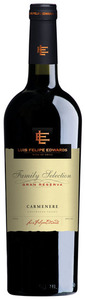 Luis Felipe Edwards Gran Reserva Carmenère 2009, Colchagua Valley Bottle