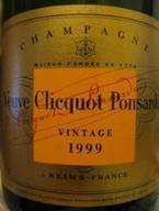 Veuve Clicquot Brut Vintage Reserve 1999 Bottle