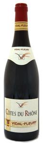 Vidal Fleury 2007, Cotes Du Rhone Bottle