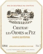 Chateau Les Ormes De Pez 1995 1995 Bottle
