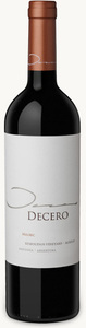Decero Remolinos Vineyard Malbec 2008, Agrelo, Mendoza Bottle