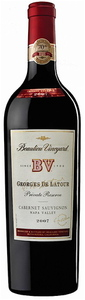 Beaulieu Vineyard Georges De Latour Private Reserve Cabernet Sauvignon 2007, Napa Valley Bottle