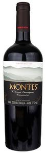 Montes Limited Selection Carménere 2009, Apalta Vineyard, Colchagua Valley Bottle
