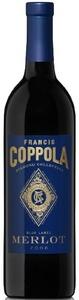 Francis Coppola Diamond Collection Blue Label Merlot 2008, California (375ml) Bottle