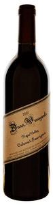 Dunn Cabernet Sauvignon 2007, Napa Valley Bottle