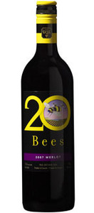 20 Bees Merlot 2010, Ontario VQA Bottle