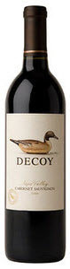 Duckhorn Decoy Cabernet Sauvignon 2009, Napa Valley Bottle