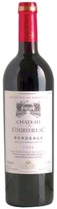 Chateau De Courteillac 2010, Bordeaux Bottle