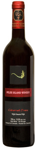 Pelee Island Cabernet Franc 2010, VQA Ontario Bottle