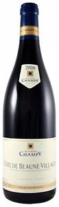 Champy Beaune Vieilles Vignes 2008, Ac Bottle