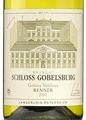 Schloss Gobelsburg Kammerner Renner Grüner Veltliner 2009, Kamptal Bottle