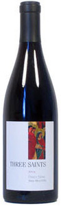 Three Saints Pinot Noir Santa Maria Valley 2009, Santa Barbara Bottle