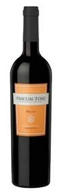 Pascual Toso Merlot 2009, Mendoza Bottle