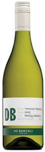 D B Family Selection Traminer Riesling 2010, Riverina, New South Wales Bottle