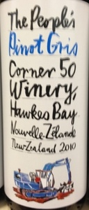 The People's Pinot Gris 2010, Hawkes Bay Bottle
