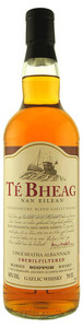 Té Bheag Unchilfiltered Whisky Bottle
