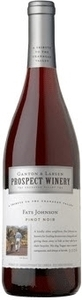 Prospect Fats Johnson Pinot Noir 2009, BC VQA  Bottle