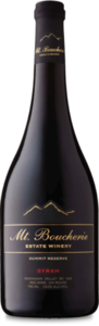 Mt. Boucherie Summit Reserve Syrah 2007, Okanagan Valley Bottle