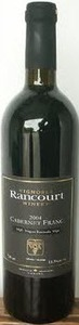 Vignoble Rancourt Cabernet Franc 2007, Niagara Bottle