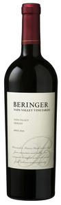 Beringer Merlot 2007, Napa Valley Bottle