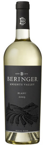 Beringer Knights Valley Blanc 2009 Bottle