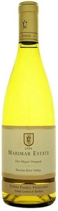 Marimar Estate La Masía Don Miguel Vineyard Chardonnay 2007, Russian River Valley, Sonoma County, Unfiltered Bottle