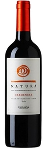 Natura Carmenère 2010, Colchagua Valley Bottle