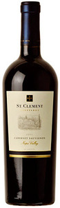 St. Clement Cabernet Sauvignon 2007, Napa Valley Bottle