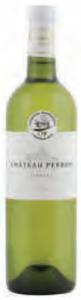 Château Perron Blanc 2009, Ac Graves Bottle