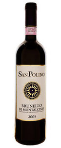 San Polino Brunello Di Montalcino 2007 Bottle