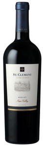 St. Clement Merlot 2008, Napa Valley Bottle