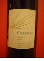 Opus One Overture 2007 Bottle