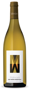 Malivoire Moira Vineyard Chardonnay 2007, VQA Beamsville Bench, Niagara Peninsula 2007 Bottle