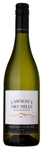 Lawson's Dry Hills Sauvignon Blanc 2010, Marlborough, South Island Bottle